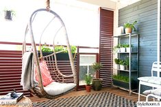 Balcony / Life Thru a Lens Hanging Hammock Chair, Hanging Chairs, Summer Flowers, Relax, Carpet, Yard, Outdoor, Inspiration, Furniture