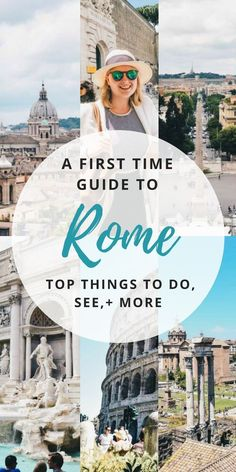 There are so many things to see and do in Rome, Italy! Here's our guide to your first visit from what to do, where to stay, and more! Travel in Europe.