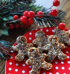 raw gingerbread men vegan