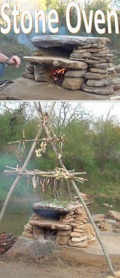 a history lesson or possible backyard project, this stone oven is a handy piece of knowledge worth consideration.As a history lesson or possible backyard project, this stone oven is a handy piece of knowledge worth consideration. Survival Life, Survival Food, Homestead Survival, Wilderness Survival, Camping Survival, Outdoor Survival, Survival Prepping, Emergency Preparedness, Survival Skills