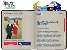 Check out the November 2013 My Great Story of the Month Contest Winner Beauty, Brains and all Heart, by Debbie Horn, Olathe, KS! Share your story at http://ndss.org/stories