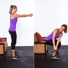 The Ultimate Home Workout  Do this total-body, fat-blasting circuit in your living room–no equipment required!