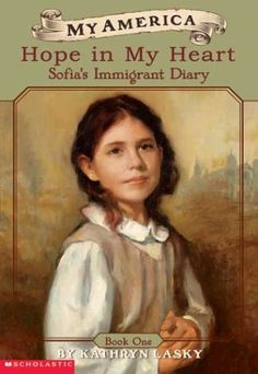 My America: Hope In My Heart, Sofia's Ellis Island Diary.  Lucy's very interested in this one. It's available at PBS if we decide we want it.