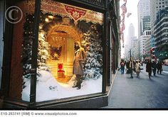 New York City at Christmas!  Love to view all the store window displays