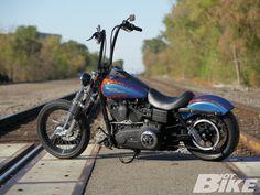 2006 Harley Davidson Street Bob.