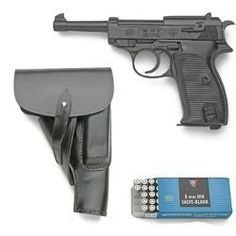 Walther P38. Yet another great looking weapon from Germany.