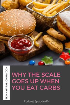 Learn why the scale goes up when you eat carbs and why you're not losing fat when you cut carbs. #lowcarbdiet #weightloss #nutrition #fatloss #carbs #carohydrates Lose Fat, Lose Belly Fat, Go Up, Start Losing Weight, How To Eat Less, Group Meals, The Dish, Gluten Free Recipes, Weight Loss Tips