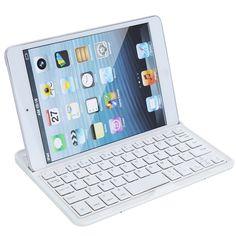 Ultra-thin Wireless Bluetooth 3.0 Keyboard Aluminum Case Stand for Apple iPad mini