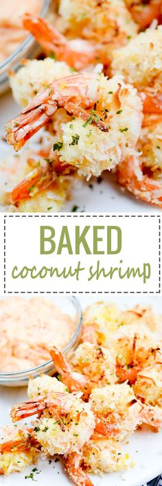 Baked Coconut Shrimp #baked #shrimp #seafood - Recipe Diaries