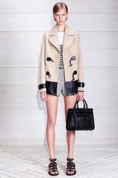 Jason Wu Resort 2014 Shorts are a privilege, not a right. I don't have that privilege.