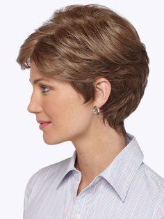 Estetica Designs Diamond Wig : Profile View   Color R12/26H