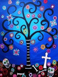 El día 1 de noviembre es el Día de Todos los Santos. Se celebra en muchos lugares hispanos y es muy variado. En México, por ejemplo, se trata de un día más festivo y alegre, mientras que en España se vive con mucha solemnidad y tristeza.   Además, en México se combina con el 2 de noviembre y se conoce como el Día de los Muertos.