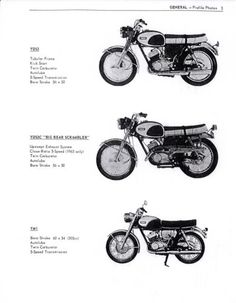 YAMAHA Workshop Manual YD3 1961 1962 1963 1964 1965
