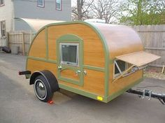 Beautiful Project 1978 Terry Travel Trailer Rear View