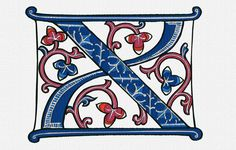 Illuminated Letter X  Applique 93,530 Stitches (h) 195.9mm (w) 254.6mm 6 Colours  FORMATS:  DST; EXP; JEF; HUS; PES; VIP; VP3; XXX  If the format your machine uses is not listed please email me and informing me what format you need and I will email you back with it! Brother PES (Innovis, ULT, and PR-600 models also take DST)  Husqvarna Viking VIP for Platinum and SE; HUS for Rose, Iris, and Designer II; VIP, HUS, or DST for Diamond. SHV for Designer I; VP3 for Topaz. Janome JEF for 12000…