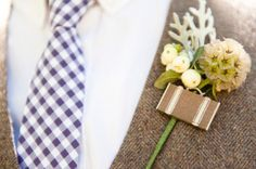 purple checkered tie  | sun and sparrow