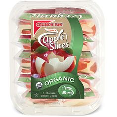 FreshDirect - Crunch Pak Organic Sweet Apple Slices $5