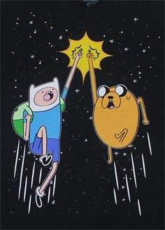 [ Space Fist Bump – Adventure Time T-shirt ] has just appeared on www.ShirtRater.com! I must have this shirt?