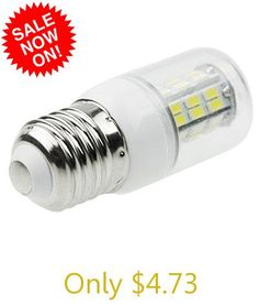 Sencart E26 SMD - 5730 8W 800  -  1200LM White Light Transparent 42 - LED Corn Light Bulb for Exhibition Entertainment (AC 12  -  16V)
