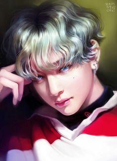 V | Kim Tae Hyung | Fan art