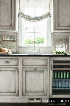 gray kitchen design idea 57