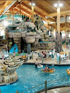 Affordable Family Fun and Lodgings at the Wilderness Resort and Water Park in Sevierville, Tennessee Road Trip Destinations, Vacation Places, Dream Vacations, Vacation Spots, Vacation Ideas, Bar Lounge, Wisconsin Dells Resorts, Wilderness Resort, Wilderness Waterpark
