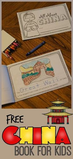 FREE Facts About China Book for Kids - two choices (Preschool / Kindergarten) with simpler text and trace key word or grade with more information. Perfect for homeschool or classes studying china in geography. Around The World Crafts For Kids, Around The World Theme, We Are The World, Geography For Kids, Geography Lessons, World Geography, Teaching Geography, Preschool Kindergarten, Preschool Activities