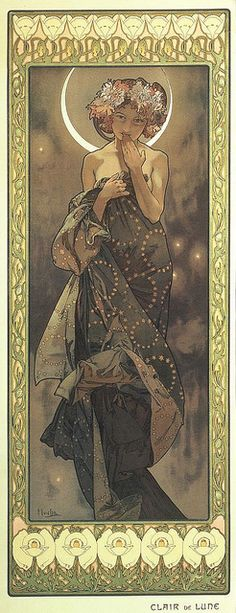 Alphonse Mucha -- I have this print, I need to frame it!