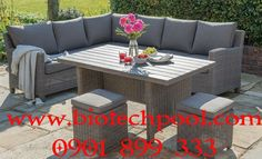 An Incredibly Popular Garden Furniture Set From Our Casual Dining Range.  The Palma Corner Set Is Made Of High Quality Weather Proof Weave.