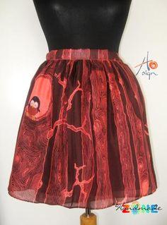 Fusta Bufnita Handmade Skirts, Tie Dye Skirt, Inspire, Artists, Fashion, Moda, Fashion Styles, Fashion Illustrations, Artist
