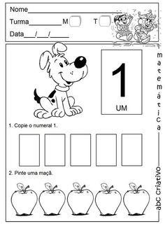 Coleção Jardim da Infância - Matemática 1º semestre