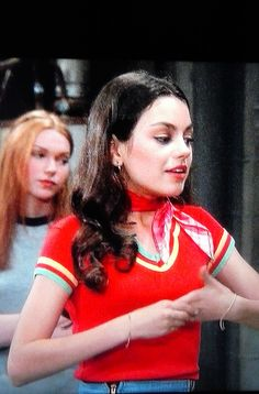 Mila Kunis Jackie Burkhart That 70's Show ( season one / pilot show ) shared to groups 3/23/17