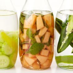 Why should food have all the fun? Let liquors take a turn with fresh, seasonal ingredients. You'll find the results are perfect for making summer cocktails in a snap. This infused booze is great simply mixed with seltzer or ginger ale, but try it in a Melon Mule for something special.