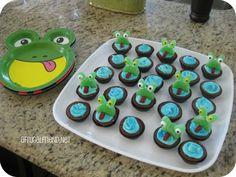 Frog Cupcakes Brownie Bites Tutorial
