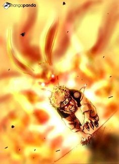 Naruto 9 tail 1st form