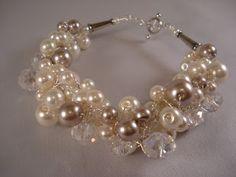 Crochet a Pearl Bracelet