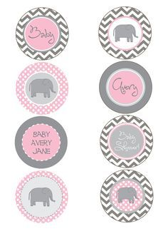 51 Awesome pink and grey elephant clipart