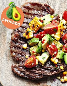 This steak and salsa will provide a great protein boost after exercise, as well…