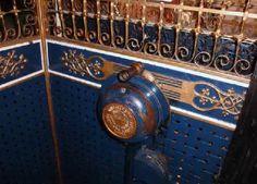 Otis Lift -the bird Cage was Otis's first design of electric lift.