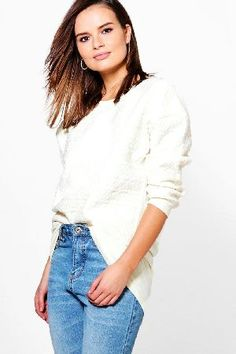 boohoo Quilted Sweat Top - cream CZZ96869 Daisy Quilted Sweat Top - cream http://www.MightGet.com/january-2017-13/boohoo-quilted-sweat-top--cream-czz96869.asp