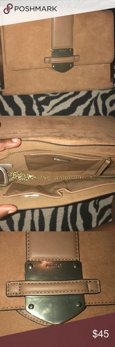 Aldo tan crossbody bag Aldo tan crossbody bag BRAND NEW only worn once Aldo Bags Crossbody Bags