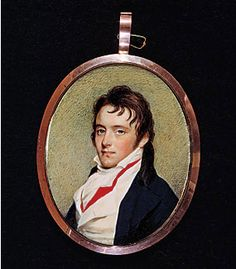 Colonel Thomas Pinckney Jr., painted by Edward Greene Malbone (American, 1777–1807) between 1801–1802. Watercolor on ivory, 3 x 2-3/8 inches. Gibbes Museum of Art/Carolina Art Association, 1939.04.0003.