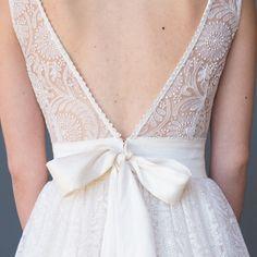 Teresa Lace Wedding Dress #1505 | Celia Grace - #FairTrade & #EcoFriendly #WeddingDress #back