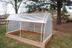 This seems like a simple design for a raised bed greenhouse - PPUG - Three Season Raised Beds