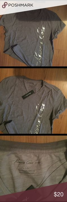 Kenneth Cole Short Sleeve V-Neck T-Shirt NWT! This Kenneth Cole New York V-neck is perfect for spring! Can be worn with jeans or dressed up with a blazer! Kenneth Cole Shirts Tees - Short Sleeve
