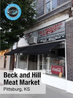 Day 30: Beck and Hill is one of the most popular meat markets in Pittsburg. Located at 303 N Broadway, the market attracts local customers with their fresh, locally raised meat and reasonable prices. Their beef products are especially favored by customers. #nationalmeatweek