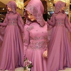 SEDEF Abiyemizin koyu pembe rengi. Boydan görmek isteyenler için gelsin ☺️ #pınarşems #sedefabiye #newcolection #newcollection2016 #tesettürabiye Bridal Hijab, Muslim Wedding Dresses, Muslim Dress, Hijab Dress, Bridal Dresses, Girls Dresses, Abaya Style, Islamic Fashion, Muslim Fashion