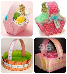 70 free Easter basket templates for kids on tipjunkie.com