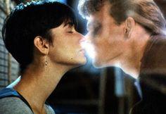 """Le baiser le plus léger : """"Ghost"""" - Demi Moore - Patrick Swayze"""