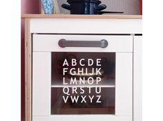 Kinderzimmerdekoration   ABC   Sticker // Aufkleber Z.B. Für Die Spielküche    Ein Designerstück Von